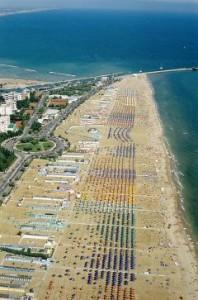 Mega Strand in Rimini