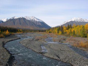 Kanutour im Yukon, Kanada