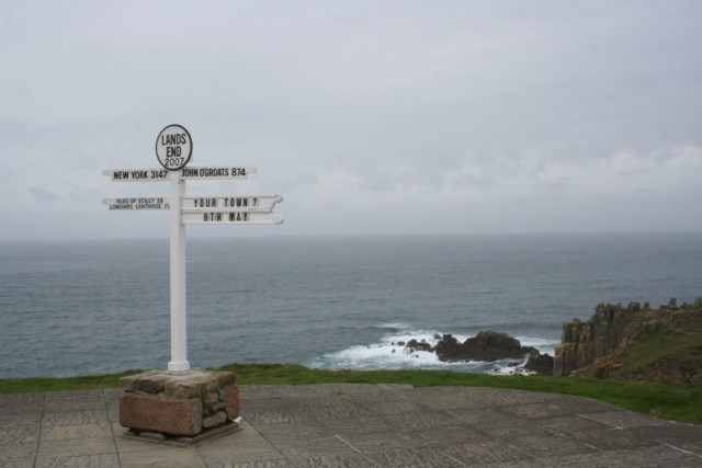 Cornwall - Minack Theatre und Lands End