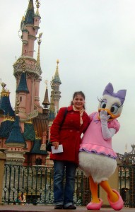 Anne Tucholka im Disneyland® Paris