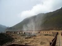 Blowhole in Mughsail Beach