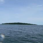 Ngamba Island in Sicht