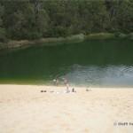 Abkühlung im Lake Wabby
