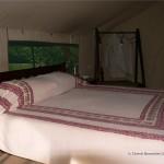 So sieht das Zelt innen aus