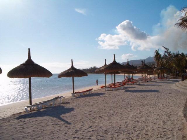 Strand beim Heritage Resort