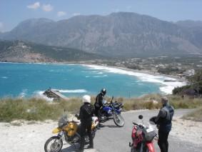 Motorrad-Reise nach Griechenland. Unser erster Kreta-Urlaub