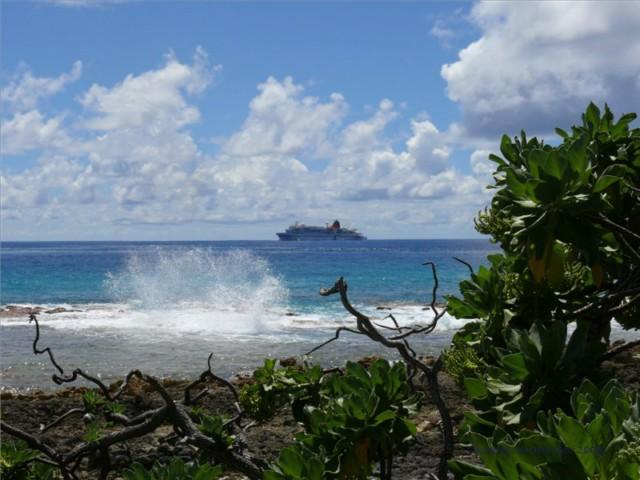 Kreuzfahrt mit der MS Bremen: Auf See - Kurs Makemo, Tuamotus, Französisch-Polynesien