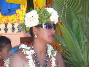Blüten und Perlen