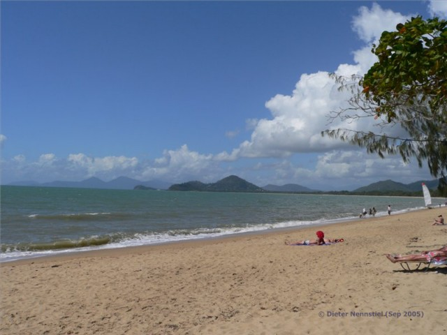 Strand bei Palm Cove