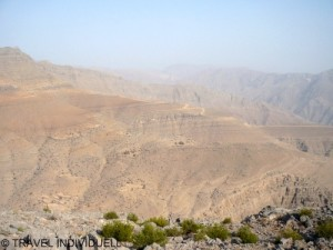 Jebel Harim Gebirge in Musandam