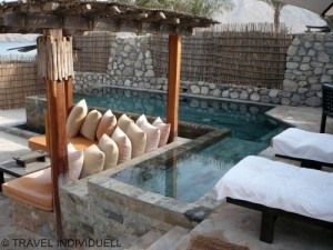 Pool Villa im Six Senses Hideaway Zighy Bay""