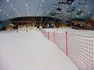 Skipiste im Ski-Dome von Dubai
