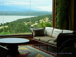 Blick von der Lounge