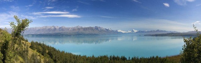 Neuseeland Mount Cook Lake Pukaki