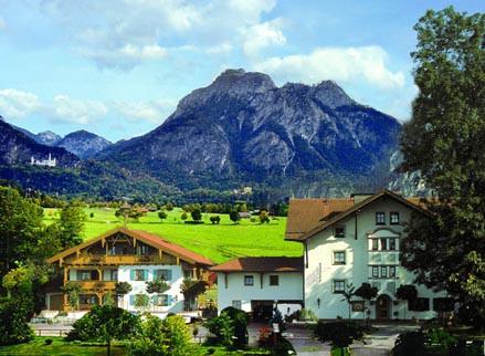 4 Sterne Wellness-Hotel im Schwangau am Schloss Neuschwanstein / Hohenschwangau - Allgäu