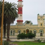 Leuchtturm mit Bezirksamt