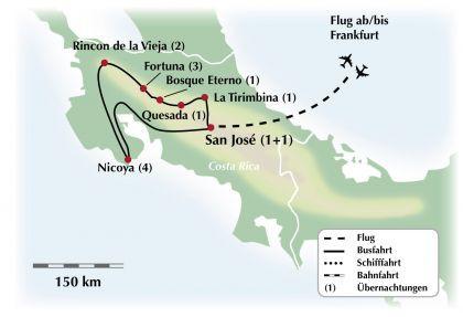 Exklusive Rundreise / Gruppenreise durch Costa Rica - Ein kleines Land mit großer Vielfalt