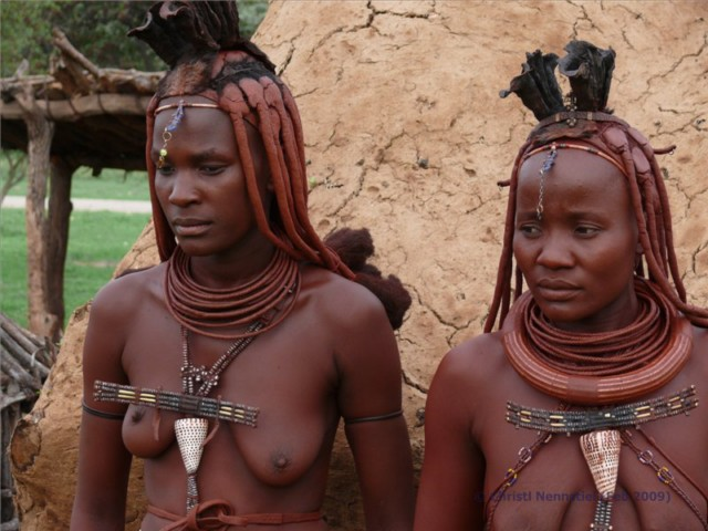 Zwei Himba Frauen 
