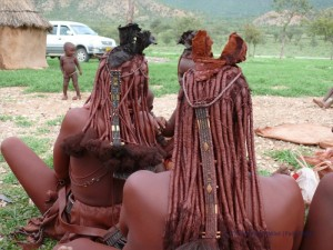 Haartracht der Himba Frauen