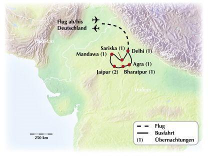 Exklusive Rundreise / Gruppenreise durch Indien - orientalisches Flair erleben