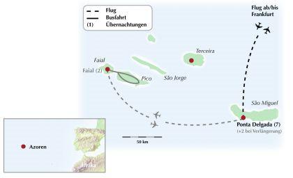 Die Azoren - Eine Gruppenreise zu den paradiesischen Inseln mitten im Atlantik
