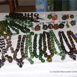 Perlen aus recyceltem Glas