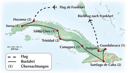 12-tägige Gruppenrundreise durch Kuba: eine tolle Kombination aus Kultur, Historie, Natur und karibischen Badespaß!
