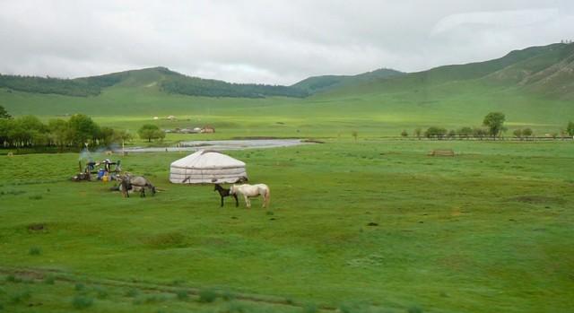Reisebericht Zugreise: Mit der Transsibirischen Eisenbahn von Moskau nach Peking Teil 2
