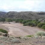 Blick auf den Aba-Huab Fluss