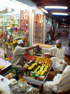 Muttrah Souk in Muscat / Oman