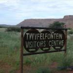 Weg zum Visitor Centre