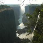 Blick von der zambischen Seite