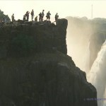 Blick zum Danger Point in Zimbabwe