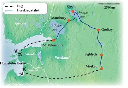 Kreuzfahrt Wolga - Exklusive Gruppenreise / Rundreise durch Russland