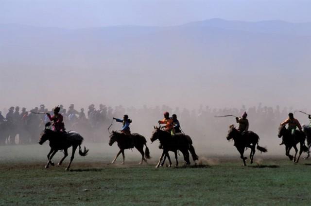 Mongolei Naadam Fest