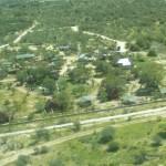 Blick auf die Tsumkwe Country Lodge