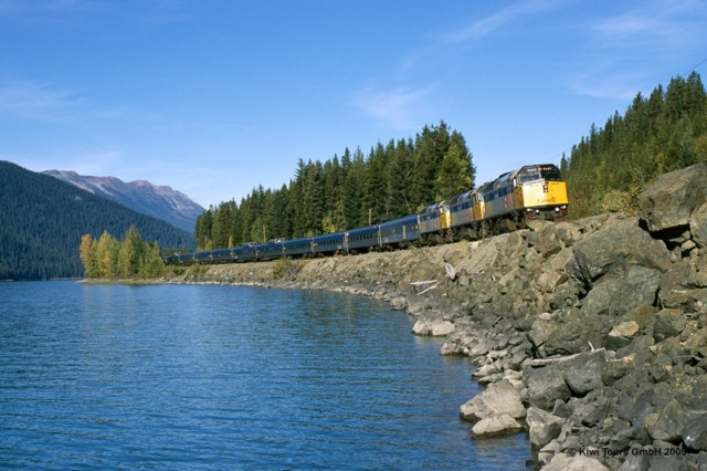 "Kanada Zugreise mit dem ""Canadian"" von Toronto ber Jaspar nach Vancouver"