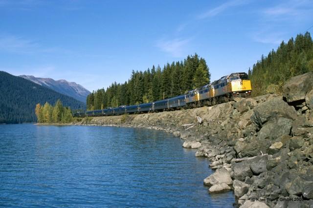 """Kanada Zugreise mit dem """"Canadian"""" von Toronto über Jaspar nach Vancouver"""