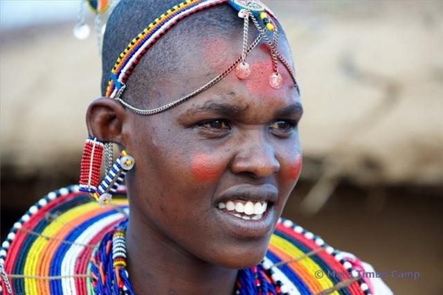 Masai Frau