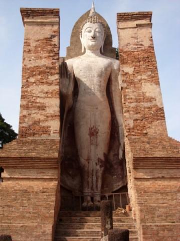 Buddhastatue in Sukothai