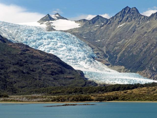 Gletscher im Beagle Kanal