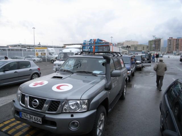 Mit dem Auto nach Gambia. 3.Etappe: Madrid - Algeciras - Tanger - Marrakesch