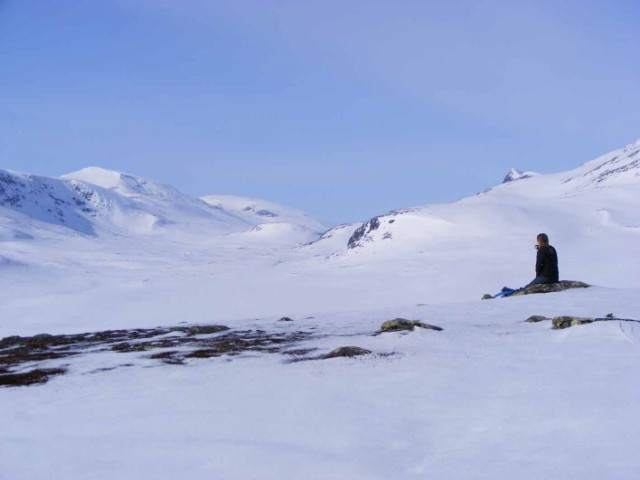Winter Abenteuer im Land der Nordlichter - Mit Schneeschuhen auf Trekking Tour in Lappland
