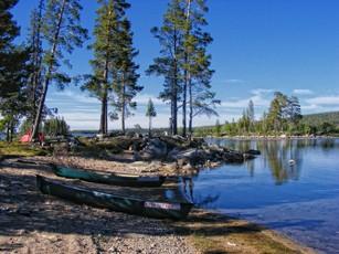 Mit dem Kanu in Lappland - Im Norden von Schweden mit dem Boot auf Tour