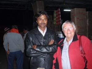 am Bahnhof von Agra