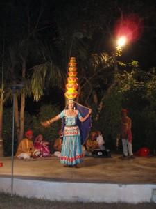 ein Tanz mit viel Gleichgewichtssinn