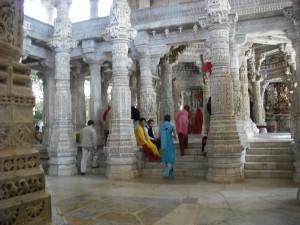 Besuch im Jain Tempel