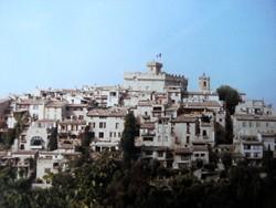 Das weiße Dorf Cagnes sur Mer
