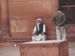 Moscheebesucher