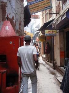 die Gassen von Varanasi